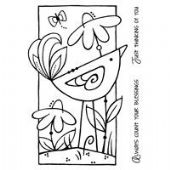 Woodware - Daisy Bird - Clear Magic Stamp Set - FRS281